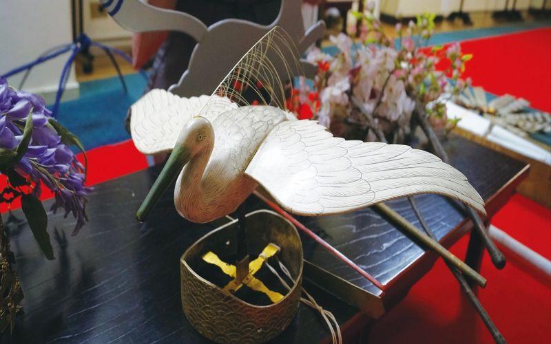 鷺冠の写真