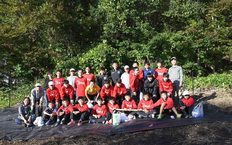 ルーヴェン高崎フットボールクラブと集合写真
