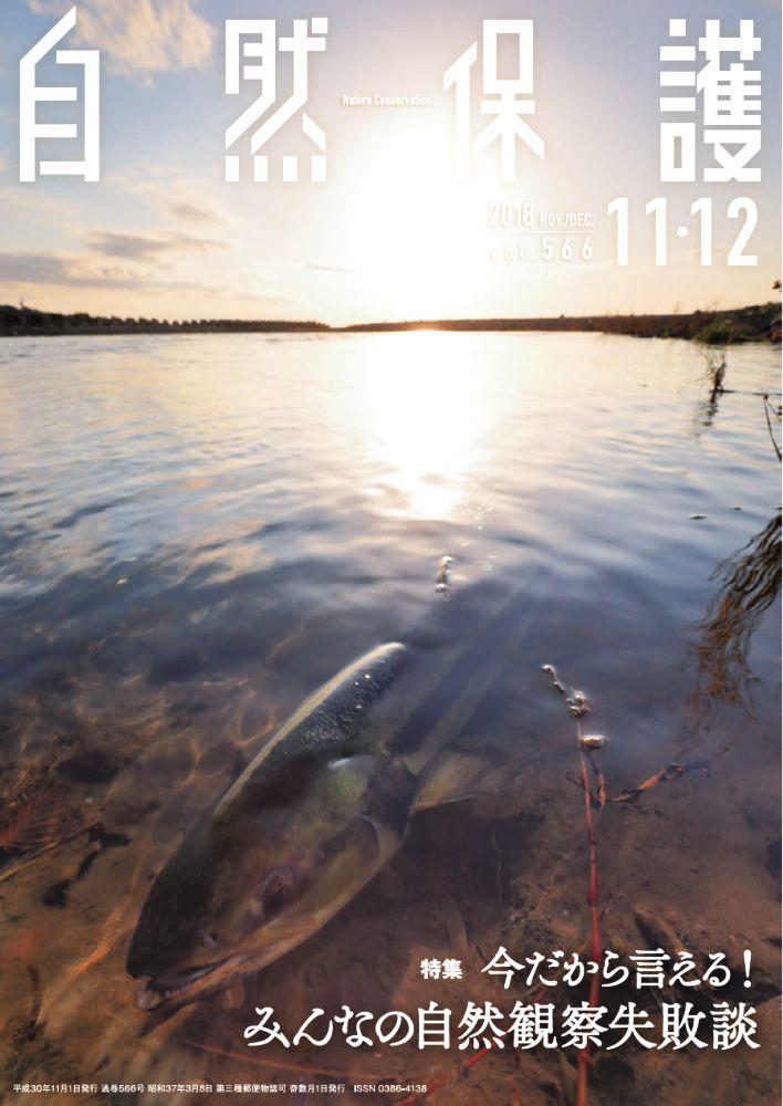 自然保護No.566表紙写真