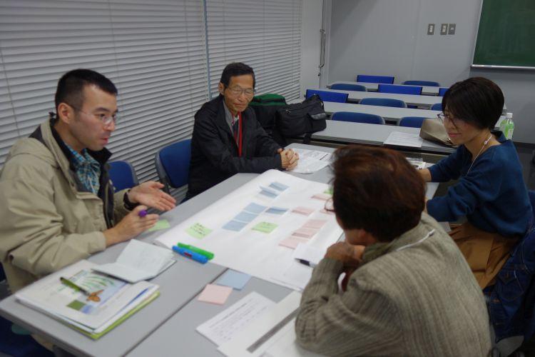 分科会で議論する参加者(写真)