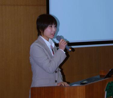 環境省生物多様性センターの大嶽若緒さん(写真)