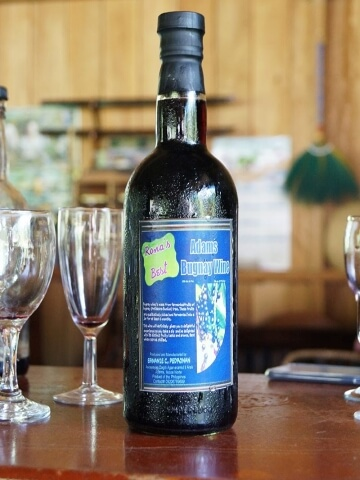 Adams Bugnay Wineのワインボトル写真