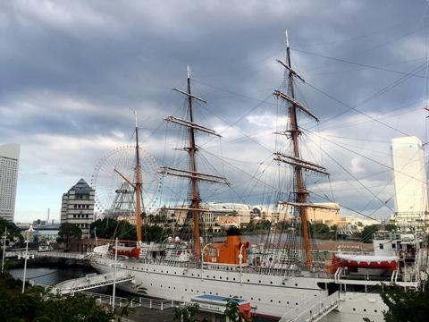 帆船日本丸の写真