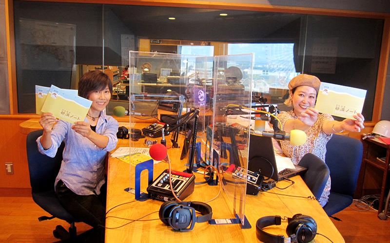 収録後に記念撮影、志村とMITSUMIさん
