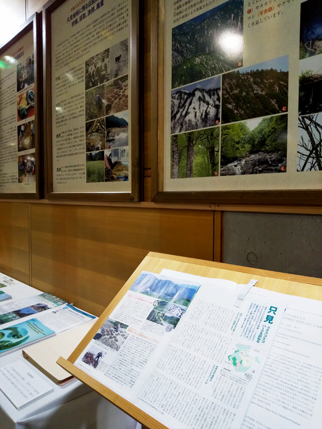 ミュージアムに展示されているパネルの写真