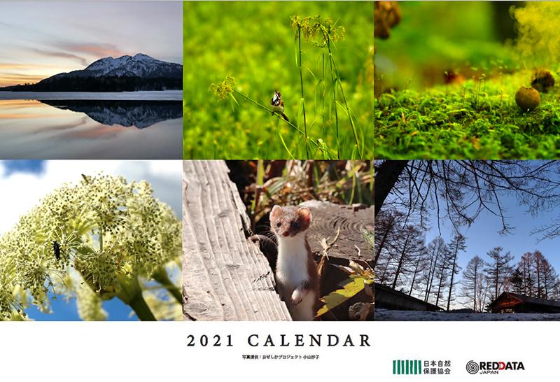 カレンダー表紙写真