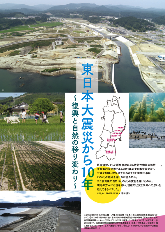 会報『自然保護』No.580特集記事扉頁の画像