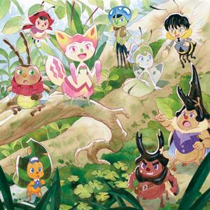 虫のキャラクターが描かれたイラストの写真