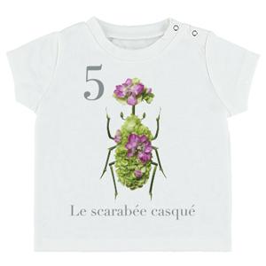 デザインされたTシャツの写真